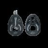Poulie double Carbo T2 Harken à fixation par transfilage