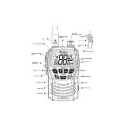 VHF portable COBRA 125