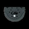 Poulie Carbo Ratchet simple/émerillon à billes pour drisse de 10 mm